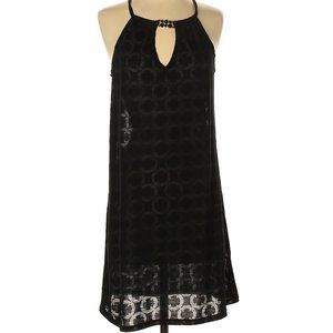 Catalina Black Beach Swimsuit Cover Up Dress